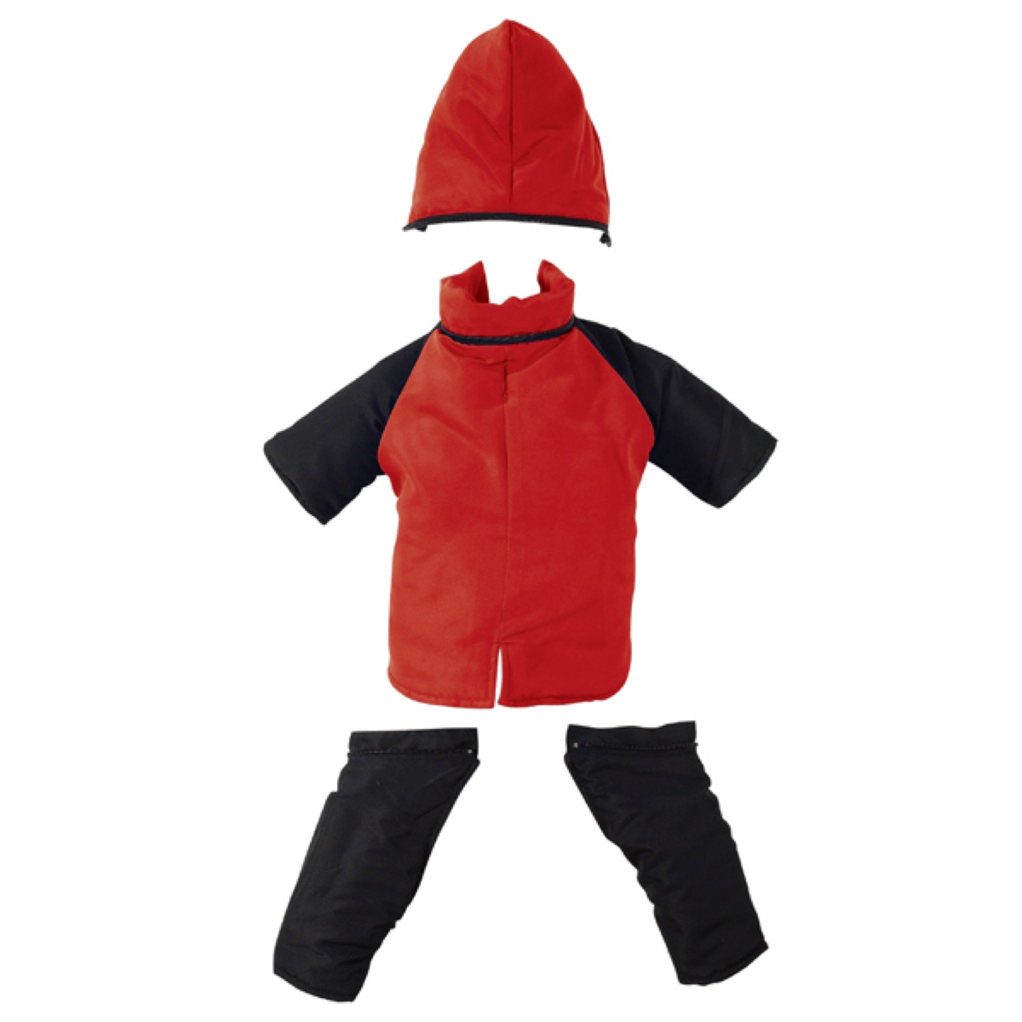 Casual Canine Snowsuit for Dogs, 16'' Medium, Red