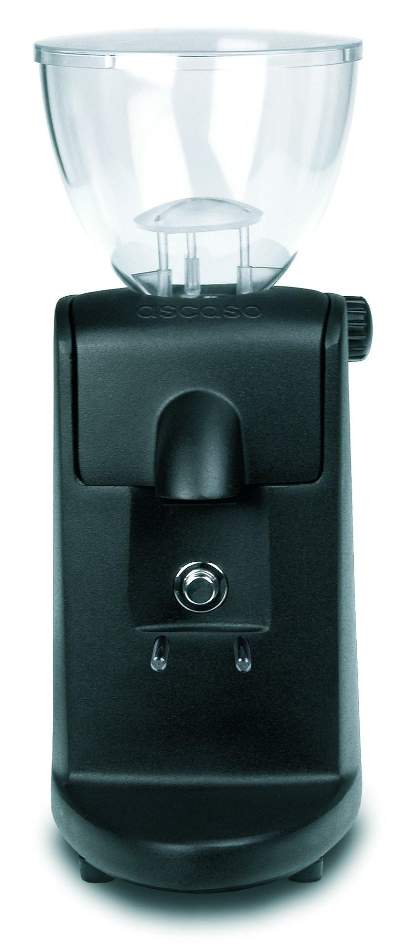 Ascaso I-Mini I1 Flat Burr Espresso Coffee Grinder - No Doser - Black