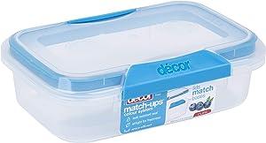 Decor Match-ups Clips Food Storage 20.3 oz. Blue