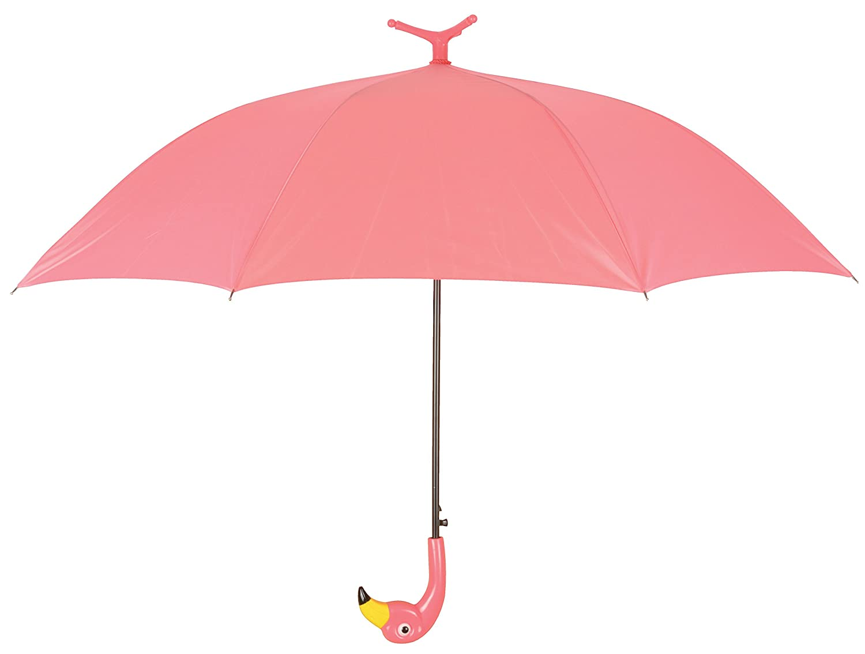Esschert Design TP203 Umbrella Flamingo with Ruffles