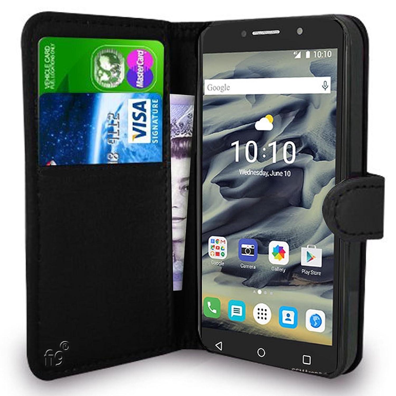 online store c47d1 9d58c fi9® Alcatel Pixi 4 3G 8050D, 8050E Wallet Case PU: Amazon.co.uk ...