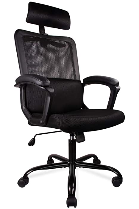 Top 10 Ergonomic High Back Office Chair Adjustable Armrest