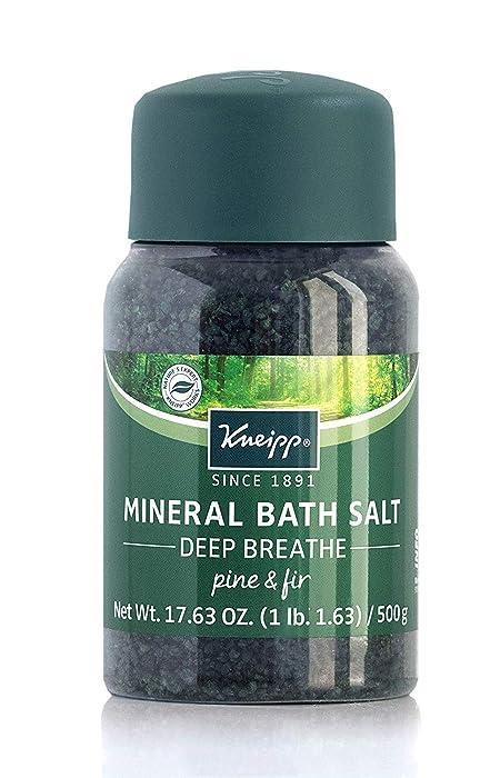Kneipp Mineral Bath Salt, Deep Breathe, 17.63 Oz