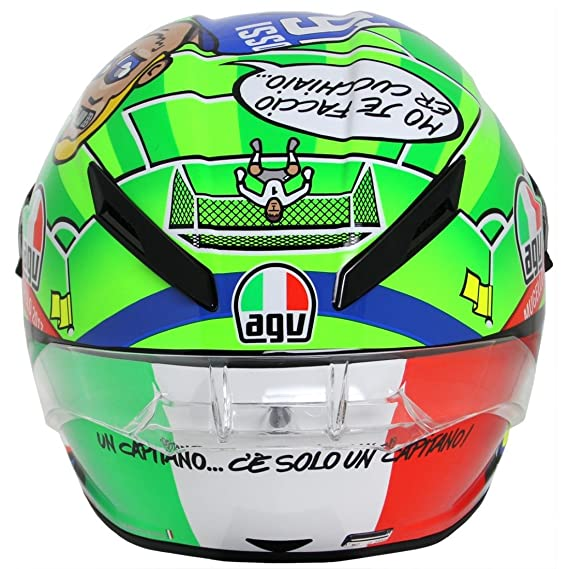 Amazon.com: AGV Pista GP Limited Edition Mugello 2017 Street Motorcycle Helmet - Multicoloured/Medium/Large: Automotive