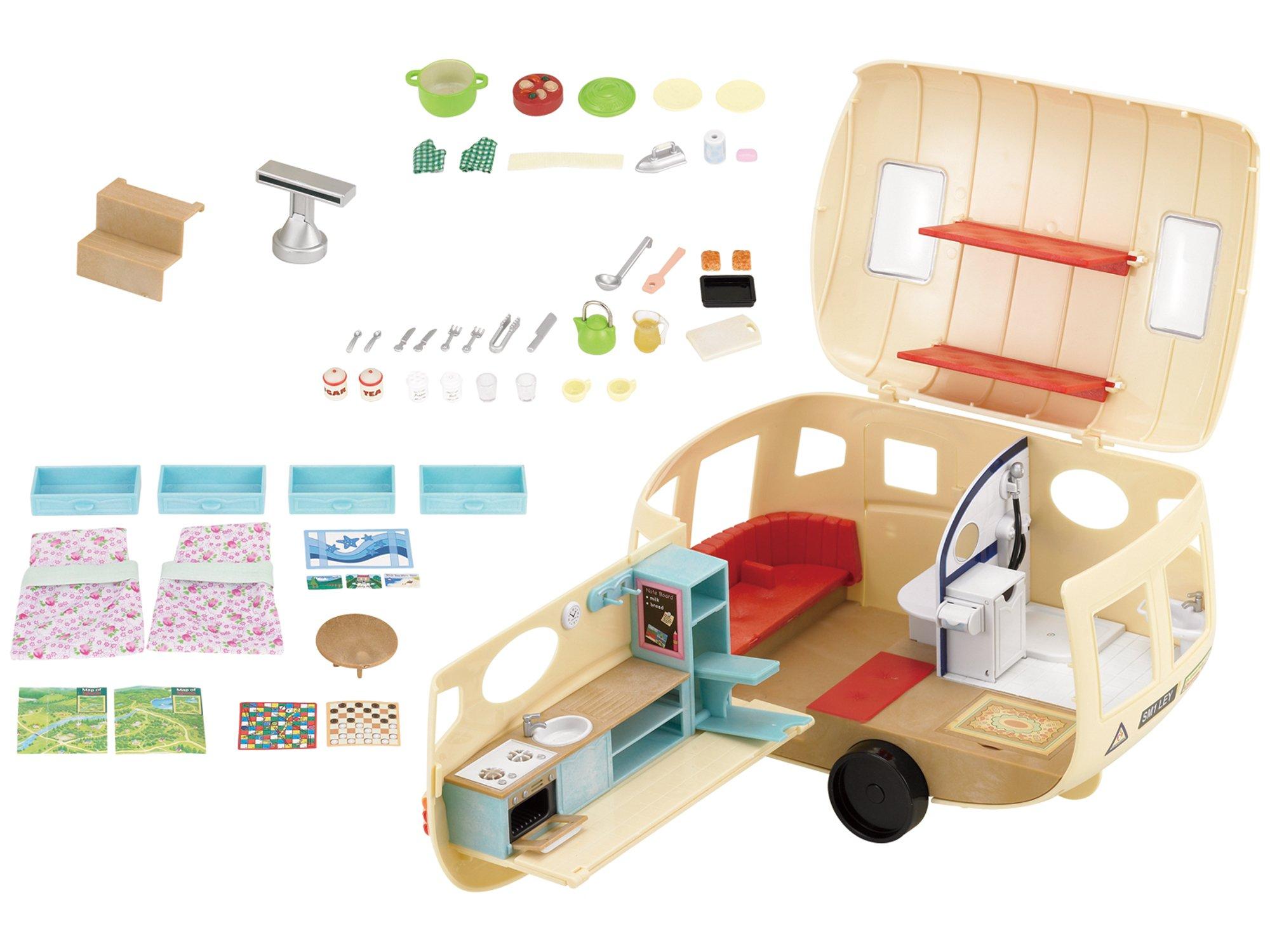 Sylvanian Families - 5045 - Caravane - Poupées et Accessoires product image