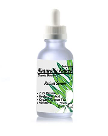 Retinol Serum 2 5%, Best Eye Firming, Tightening and Moisturizing Serum,  helps with