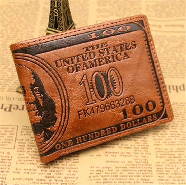 BININBOX Men Front Pocket Wallet Purse ID Coin Card Case Slim Billfold Leisure