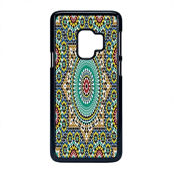 Amazon.com: Cell Phone Case Compatible Samsung Galaxy S9,Moroccan ...