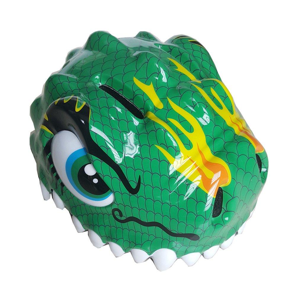 ESASAM 3D Design Dinosaur Infant//Toddler Bike Helmets For Kids GREEN