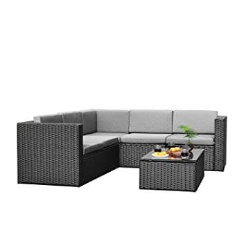 Amazon Com Sky Patio B1035 Bl 4 Pieces Outdoor Furniture Complete