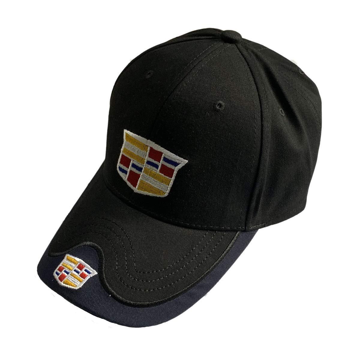 Black Baseball Cap Motor Hat F1 Racing Hat (Cadillac 2)
