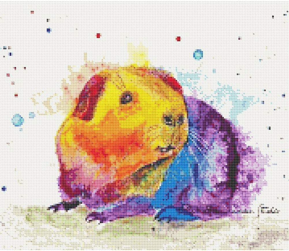 Diamond Painting Kits for Adults Kids Home Office Guinea Pig 11.8x11.8 in by UM UPMALL Room Decoration