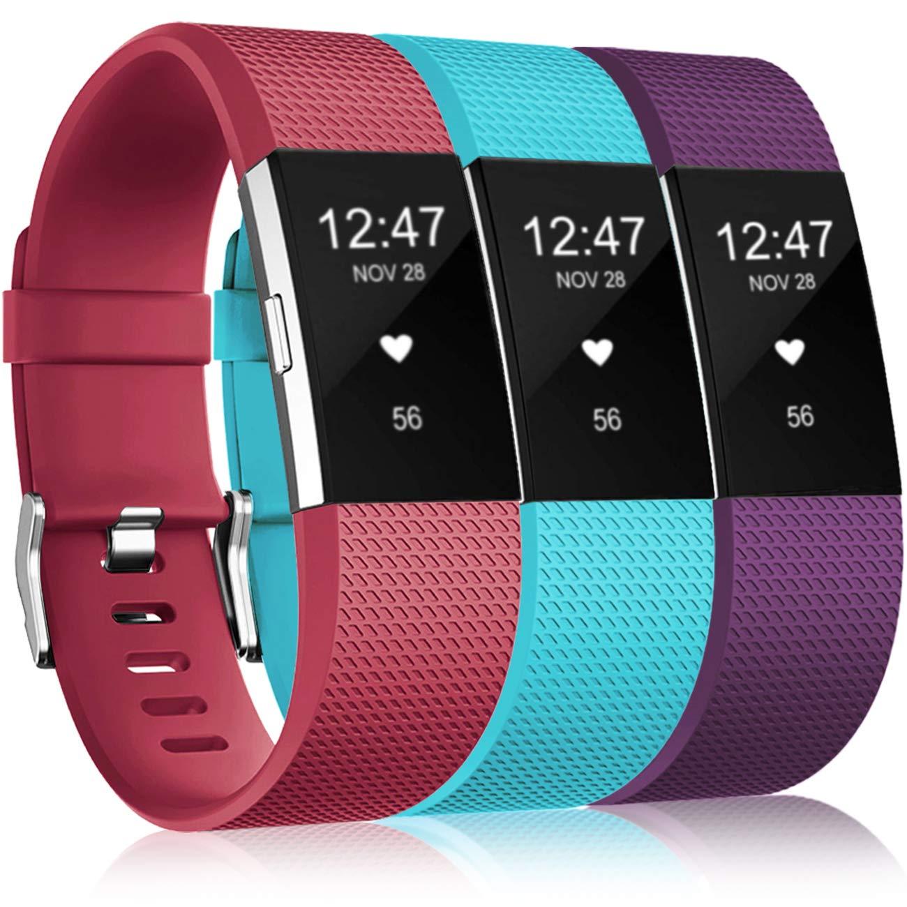 Mallas De Reloj Fitbit Charge 2 (3 Unidades) (lbxs)