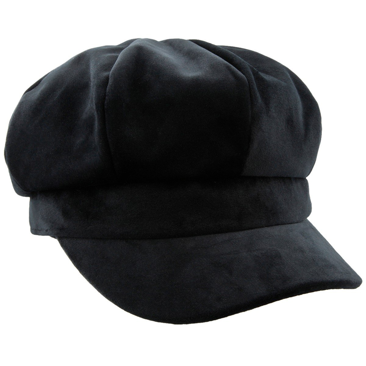 CDM product moonsix Newsboy Hat,Plain Cabbie Visor Beret Gatsby Ivy Caps for Women big image
