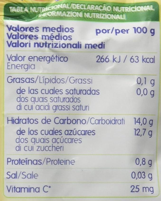 Hero Nanos Bolsita de Fruta con Plátano y Fresa - 100 g: Amazon.es: Amazon Pantry