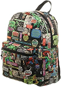 Marvel Comic Art All-Over Print Backpack