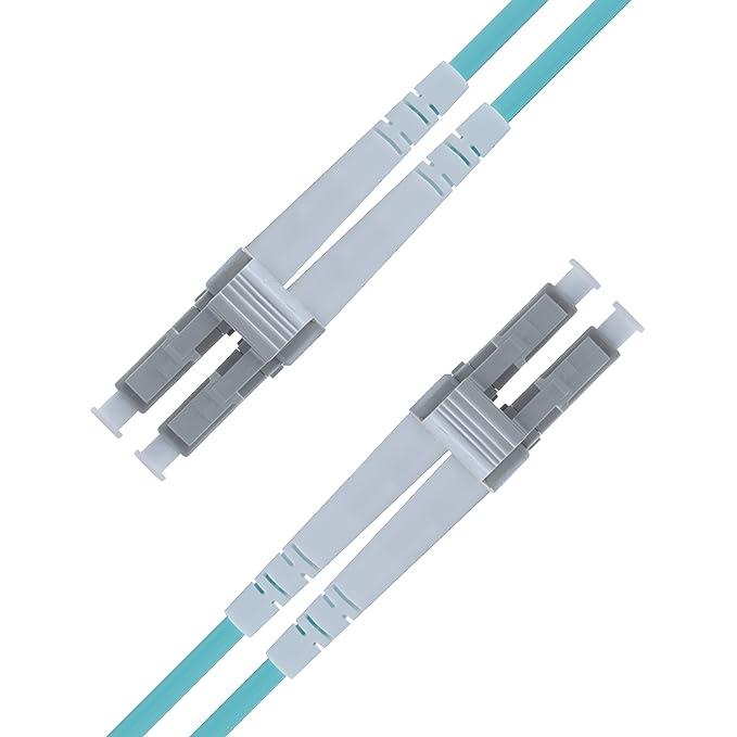 2 opinioni per Cavo Fibra Ottica LC a LC 5M Duplex Multimodale- UPC- LC/LC 50/125 OM3 10