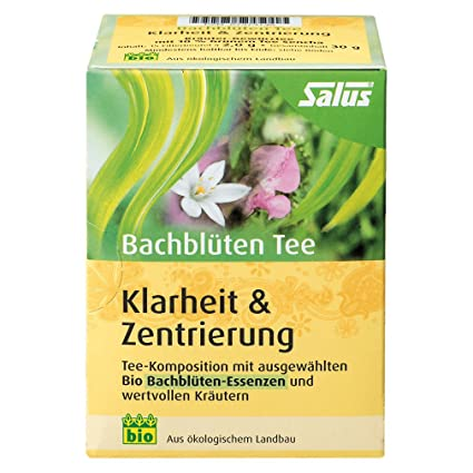 Salus Bach Fleurs The Clarte Zentrierung Bio 15 Sac Filtre