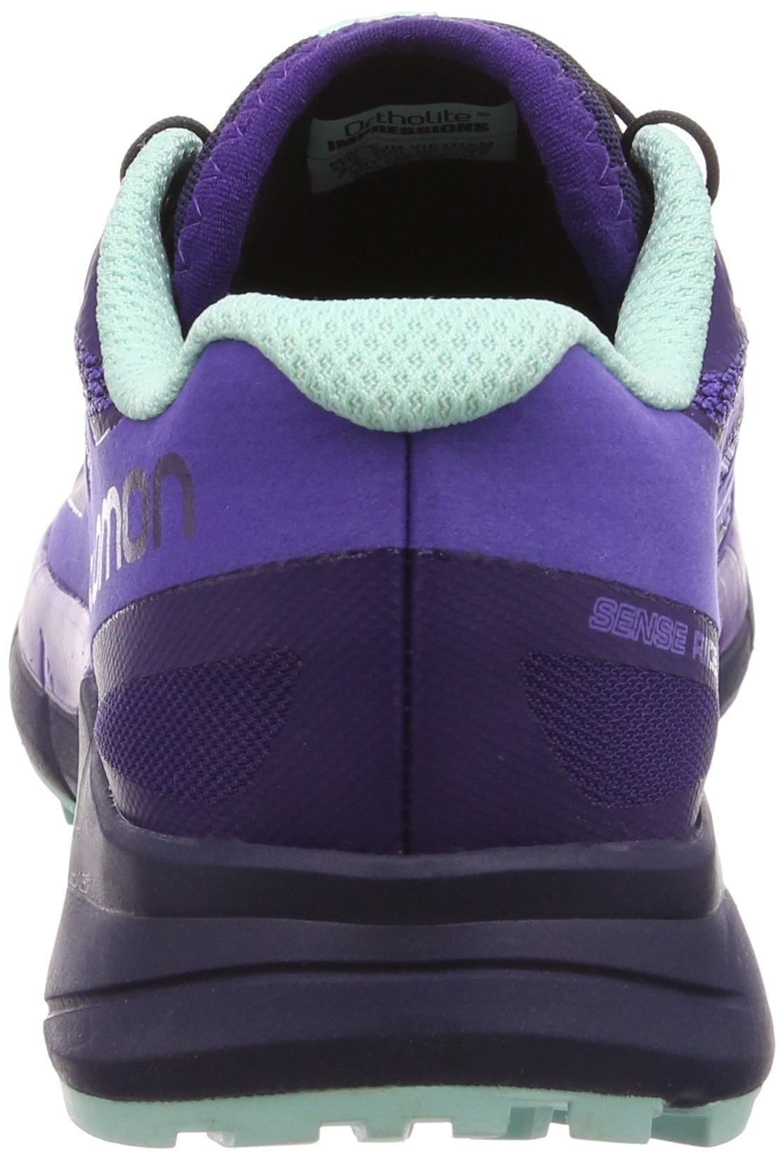Salomon Women's Sense Ride Running Shoes, Purple, 6.5 M by Salomon (Image #2)