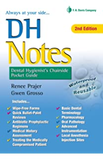 dh notes dental hygienists chairside pocket guide - Dental Anatomy Coloring Book