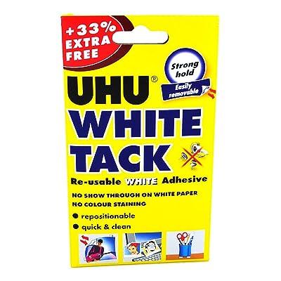 UHU - Adhesivo para tachuelas, color blanco: Oficina y papelería
