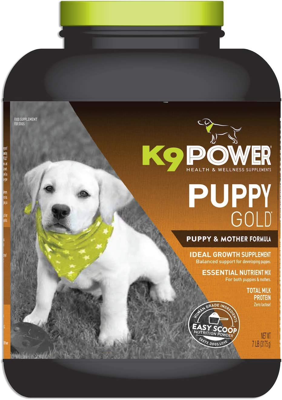K9 Power – Puppy Gold – Nutritional Supplement for Growing Puppies Nursing Mothers – Targets Skeletal Structure, Muscular Formation, Organ Development