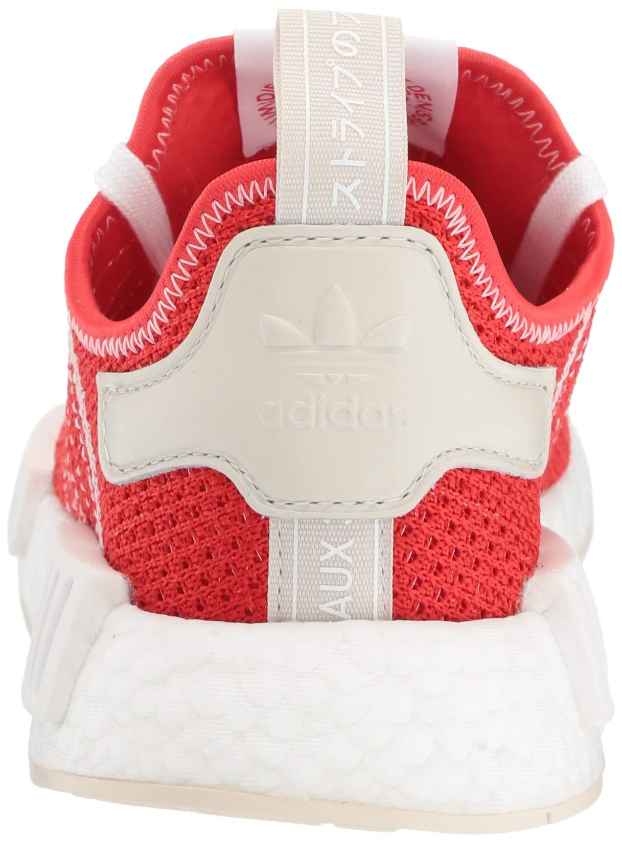 adidas Originals Men's NMD_R1 Running Shoe, Active red/Ecru Tint, 4 M US by adidas Originals (Image #2)