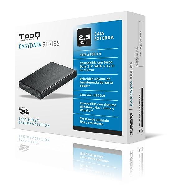 Amazon.com: Tooq TQE-2527B Case for Hard Drive (2.5 Inch ...