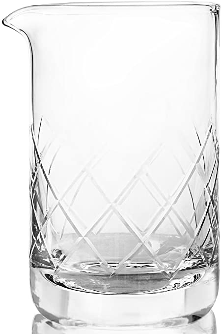 f6cd0d031a2 Crystal Cocktail Mixing Glass - Thick Bottom 17oz 500ml Cocktail Glass -  Choice for Amateurs   Pros - Ideal Gift  Amazon.ca  Home   Kitchen
