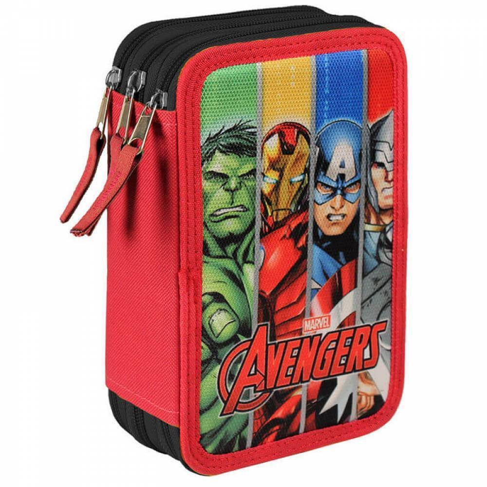 The Avengers Marvel Avengers–Astuccio 42 pezzi (inclusi) con tre scomparti Cerdá 2700-0169