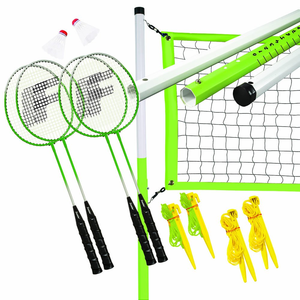 Franklin Sports Intermediate 4 Player Badminton Set   B0047NH478