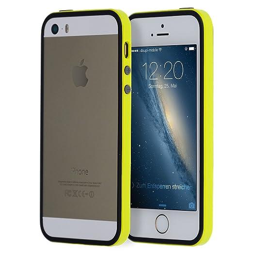 100 opinioni per doupi® SuperSlim TPU Bumper quadro della protezione Case per iPhone 5 5S SE