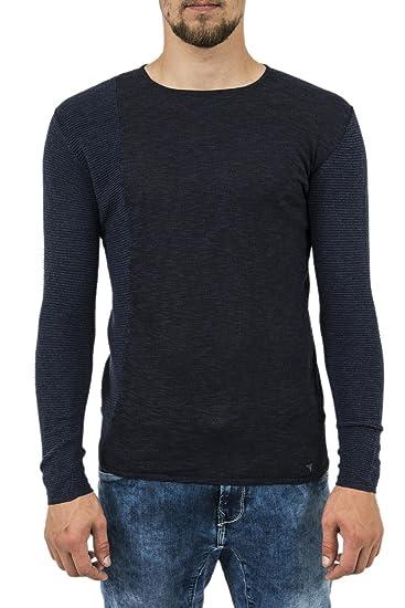 Guess Pull Hiver Jeans m74r50 Otto Bleu  Amazon.fr  Vêtements et ... 9a728837f6a