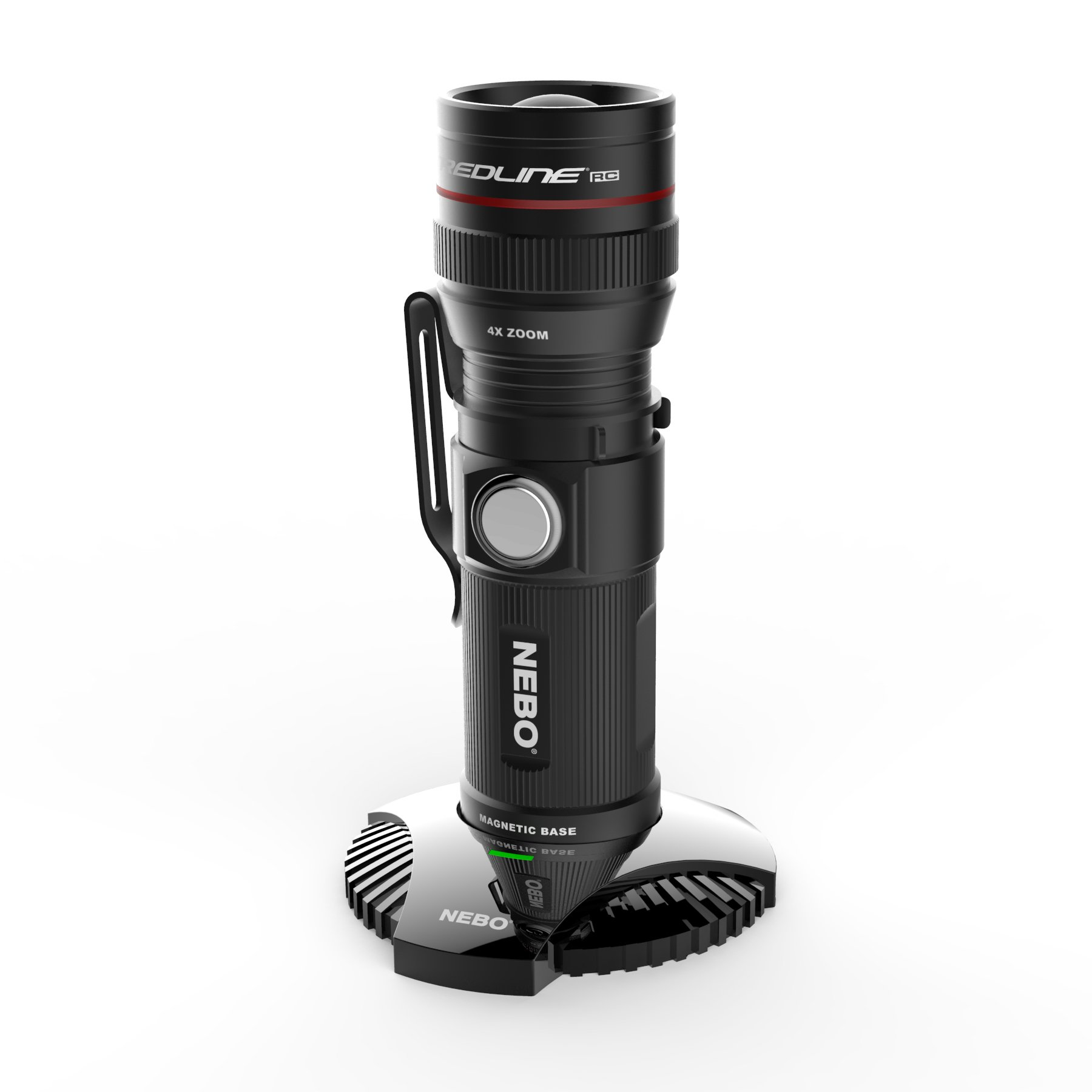 NEBO Redline RC Flashlight with Mag Dock 6392