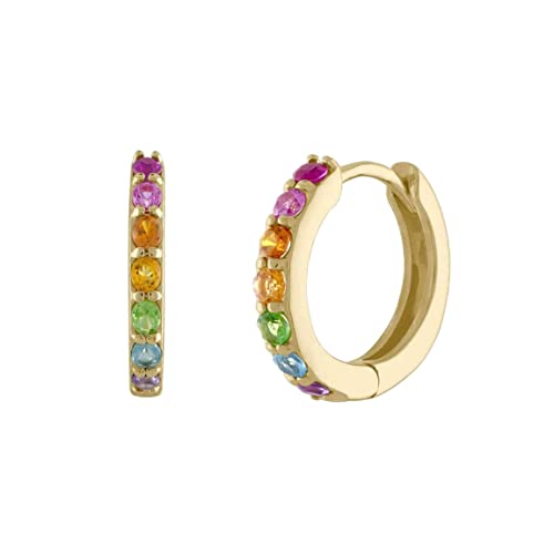 hanging earrings colored stone Earrings