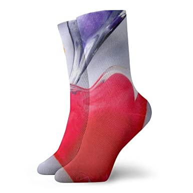 Drempad Luxury Calcetines de Deporte 3D Cute Colorful Hearts ...