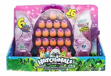Hatchimals CollEGGtibles Set Estuche De Colección Con 2 Hatchimals Exclusivos y 24 Huevos En Espera Para Ser Incubados