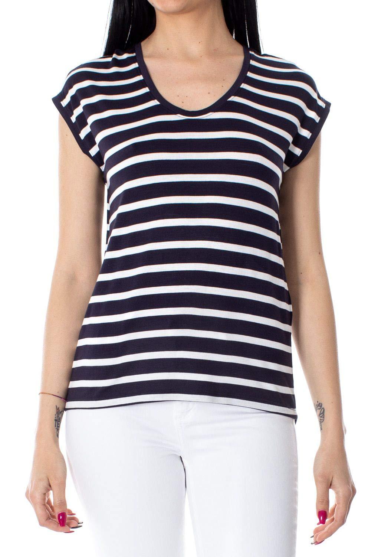 Only Women's 15179257blueE bluee Cotton TShirt