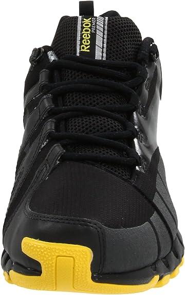Amazon.com | Reebok Mens Premier Zig Wild TR-M, Black/Gravel/Yellow/Silver, 14 M US | Trail Running