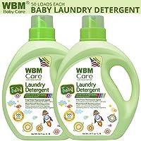 Deals on 2-Pack WBM 34-oz. Active Baby Laundry Detergent