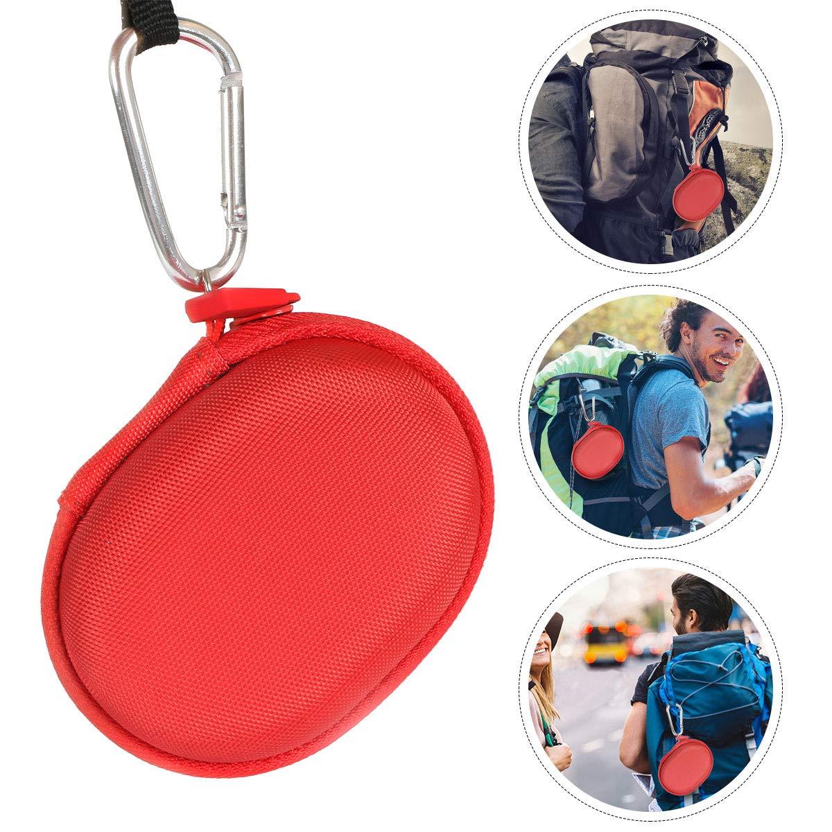 Rouge /Étui de Voyage Rigide Housse Cas pour Sony SRS-XB01 Enceinte Portable par co2CREA