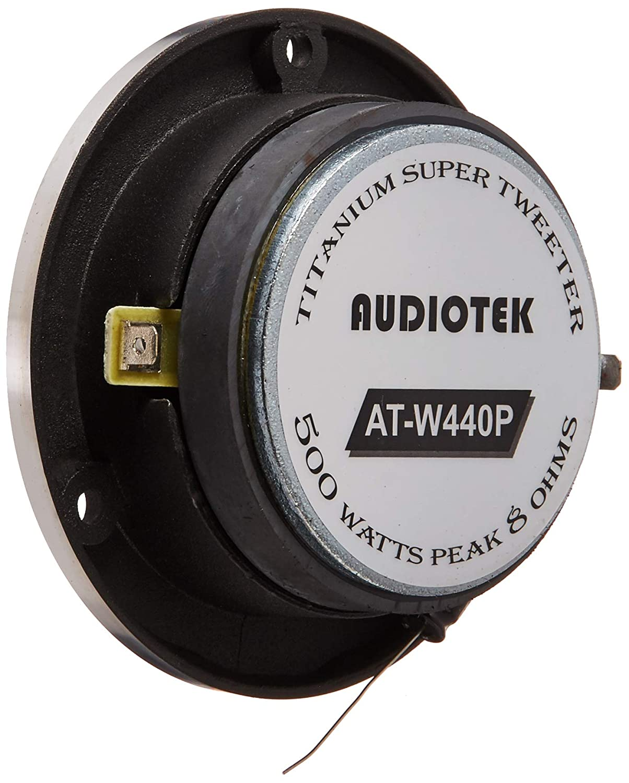 ATW440P Car Vehicle 500 Watts 1.75 Titanium Super TweeterPAIR Audiotek