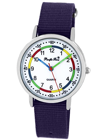 Niños Aprendizaje First Time Joven Reloj Pulsera Pacific De 8mOnwvN0