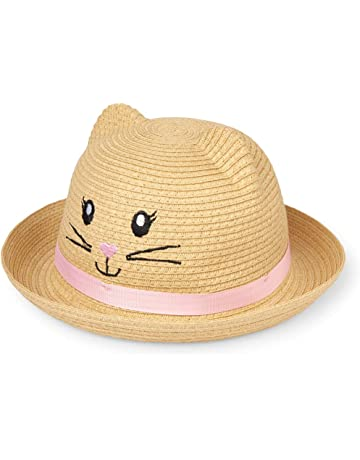 91d4b3d43fc The Children s Place Baby Girls Novelty Straw Cat Hat