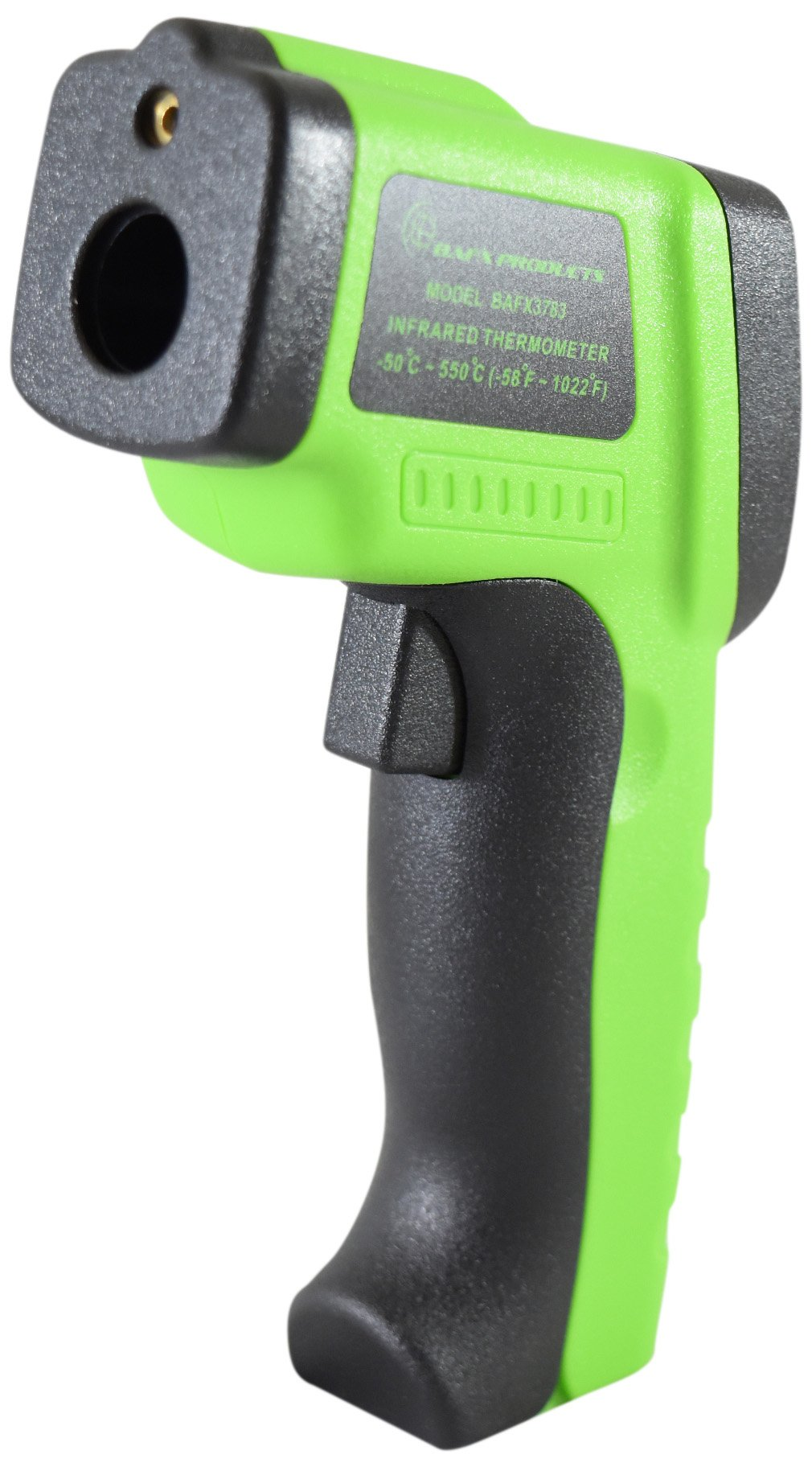 BAFX Products Non Contact IR (Infrared) Thermometer (-58°~+1,022°F) W/ Adjustable Emissivity & Pointer