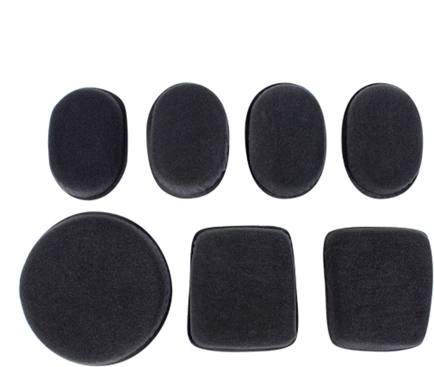 7 Pcs CONDOR 221055-002 Helmet Pads II Black