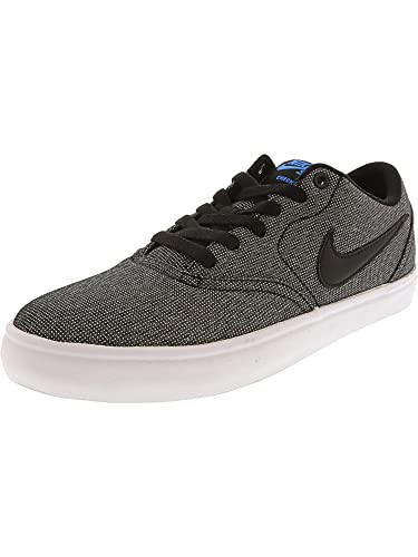 the latest 0a4ba d1e52 Nike SB Check Solar CNVS, Chaussures de Fitness Homme, Multicolore  Black White
