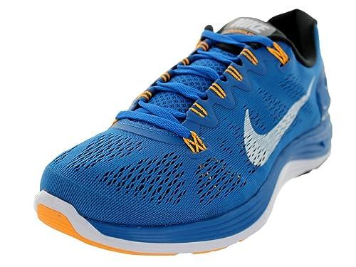Nike Lunarglide+ 5 599160 401 - Zapatillas de Running para Hombre, Azul (Mltry Blue/White/Blk/ATMC MNG), 42 EU: Amazon.es: Zapatos y complementos