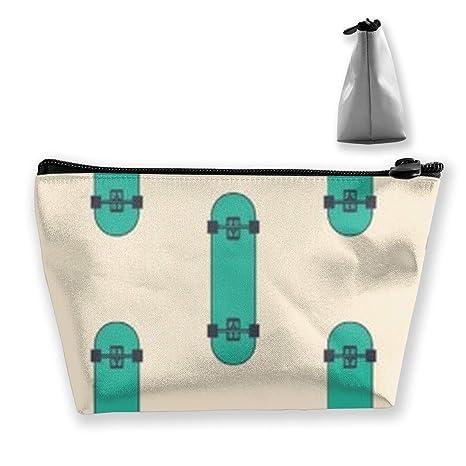 Bolsa de Maquillaje con diseño de monopatín Bolsas de ...
