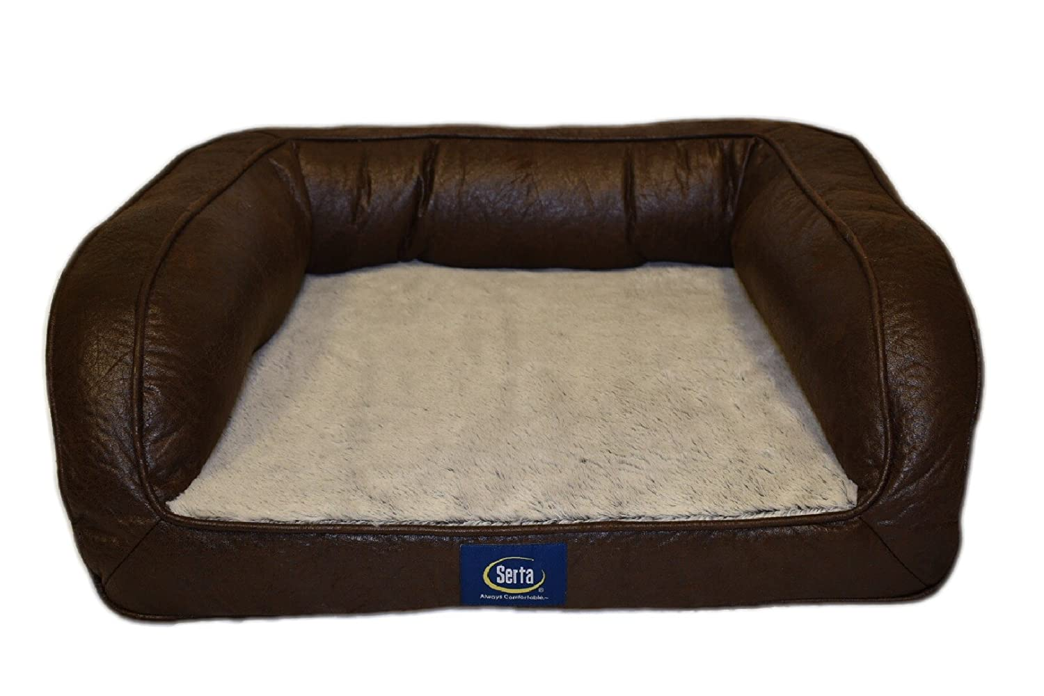 Cool Serta Ortho Quilted Couch Pet Bed Gmtry Best Dining Table And Chair Ideas Images Gmtryco
